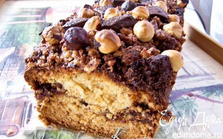 Рецепт Нью-Йоркский орехово-шоколадный кекс