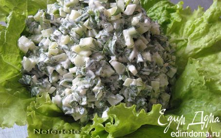 Рецепт Салат со щавелем