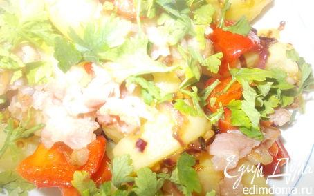 Рецепт Картошечка с горчичной заправкой