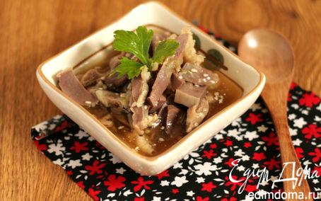 Рецепт Куриные желудочки в пикантном соусе
