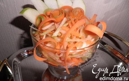 Рецепт Салат с зеленой редькой