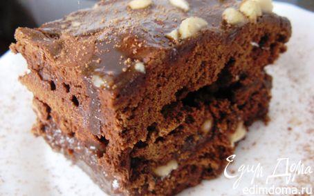 Рецепт Брауни с соленым арахисом и шоколадной карамелью