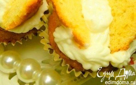 Рецепт Пирожные-бабочки для Дня Пирожных