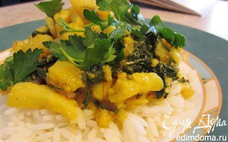 Рецепт Алу Гоби - постное индийское блюдо