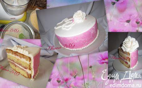"""Рецепт Торт """"Розовый фламинго"""""""