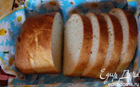 Рецепт Молочный хлеб в хлебопечке