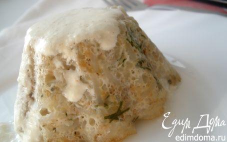 Рецепт Мини-запеканки из риса с тунцом под розовым соусом