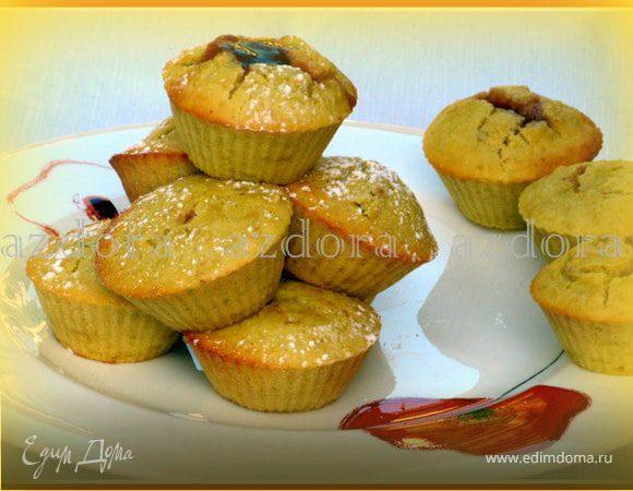 Яблочные маффины из рисовой муки