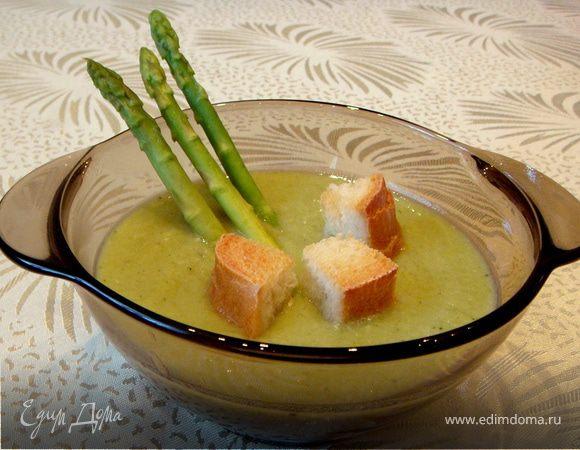 Суп-пюре с брокколи и куриной грудкой