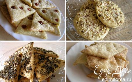 Рецепт Универсальное постное печенье