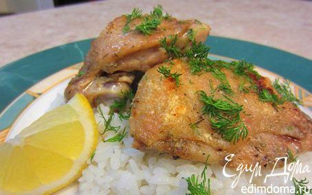 Рецепт Запеченные куриные бедрышки - настоящий вкус куриного мяса
