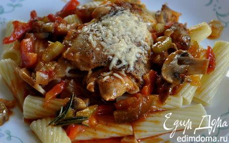 Рецепт Курица в охотничьем стиле - Сhicken Cacciatore