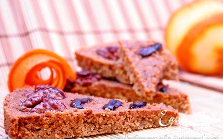 Рецепт Ароматный апельсиново-ореховый шортбред