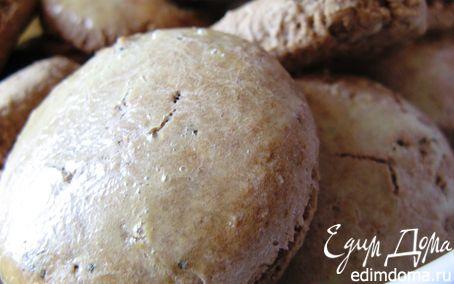 Рецепт Домашние прянички с имбирем, кардамоном и мятой
