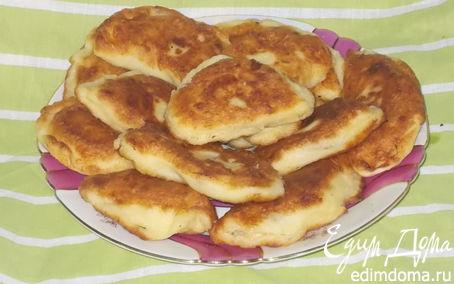 Рецепт Пирожки из заварного теста с картошечкой и луком