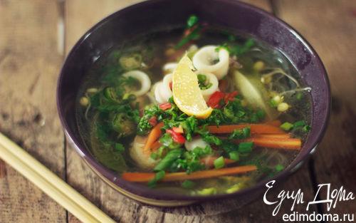 Рецепт – Фо с морепродуктами (вьетнамский суп)
