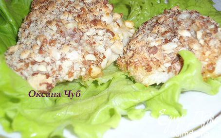 Рецепт Куриное филе в миндальной панировке