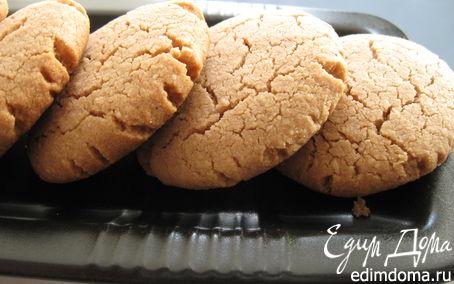 Рецепт Шоколадно-миндальные печеньки с тхиной