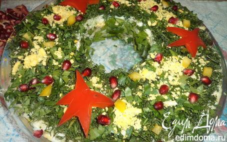 Рецепт Салат к Новому году