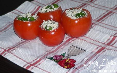 Рецепт Помидоры, фаршированные брынзой