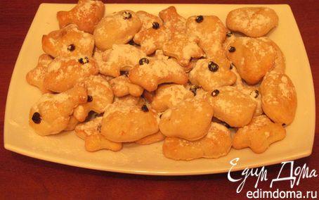 Рецепт Печенье из сметанного теста