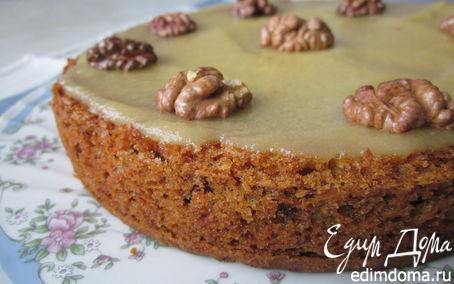 Рецепт Морковный торт (постный)