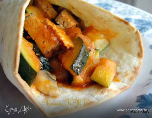 Тортилья, Буритто, лепешка Wrap - три вида теста, три начинки