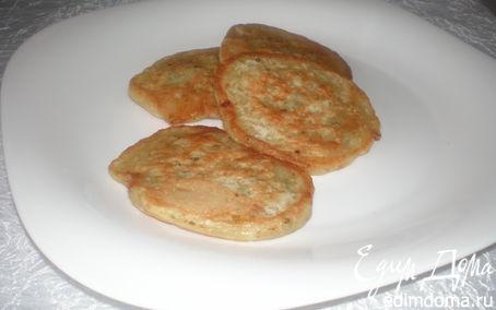 Рецепт Дрожжевые луковые оладьи