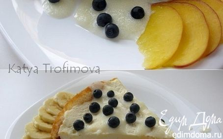 Рецепт Ватрушка с яблоком и корицей