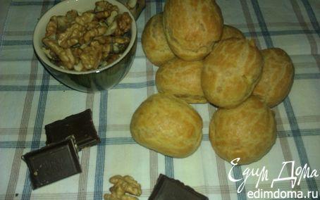 Рецепт Необыкновенные эклеры для Ольги♥Ч с орехово-бейлисовым кремом