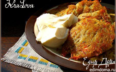 Рецепт Деруны с салом