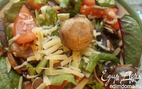 Рецепт Салат с грибочками