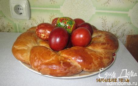 Рецепт Пасхальный венок