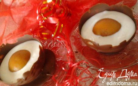 Рецепт Глазунья в шоколаде