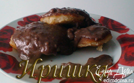 Рецепт Манники с подливкой