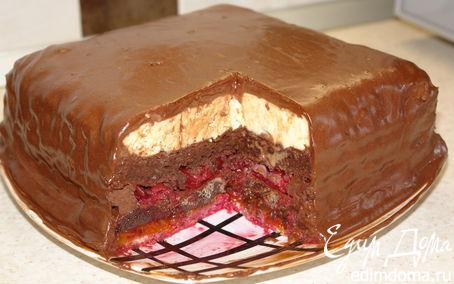 Рецепт Шоколадный торт с пьяной вишней