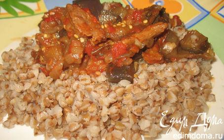 Рецепт Баклажаны с телятиной