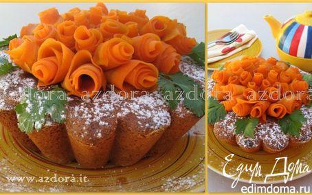 Рецепт Морковно-миндальный торт