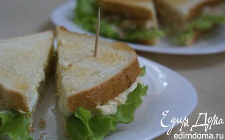 Рецепт Сэндвич с яичным салатом/Sandwich with egg salad