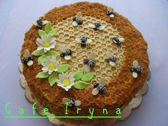 Как сделать торт с медом