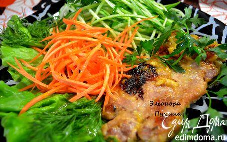 Рецепт Свинина в апельсиновом соке