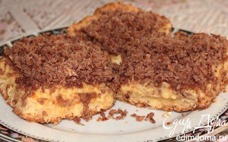Рецепт Баварский пирог с кокосово-шоколадным штрейзелем