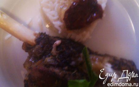 Рецепт Голяшка ягненка, запеченная в духовке