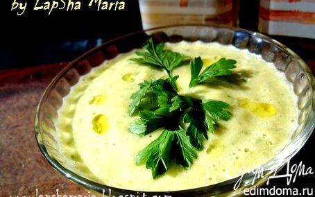 Рецепт Суп-пюре из петрушки с сыром бри