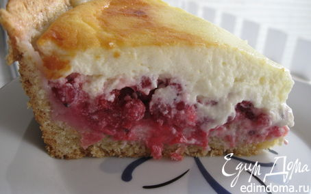 Рецепт Новошотландский пирог из голубики со сливочным кремом