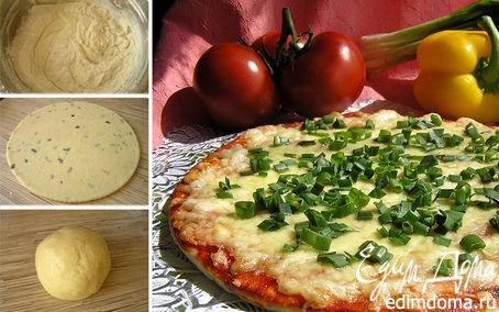 Рецепт Тесто для пиццы - залог успеха! (три варианта)