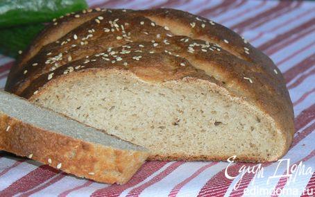 Рецепт Хлеб с гречневой мукой в хлебопечке