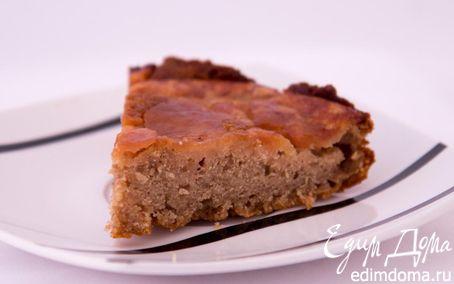 Рецепт Гречневый пирог с яблоками
