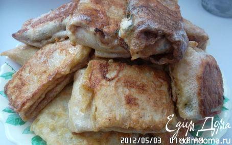 Рецепт Сырные конвертики из лаваша