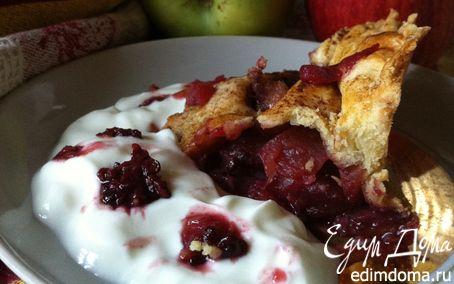 Рецепт Яблочно-ежевичный пирог от Джейми Оливера из лучшего старинного рецепта сладкого песочного теста ...